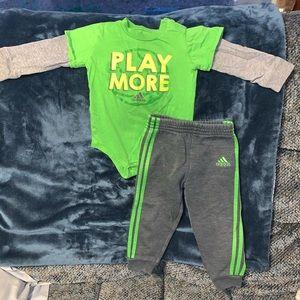 Baby Boy Adidas Matching Set